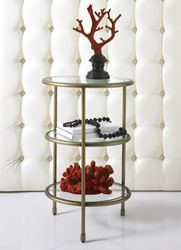 Picture of HIDDEN TREASURES  Three Tiered Accent Table
