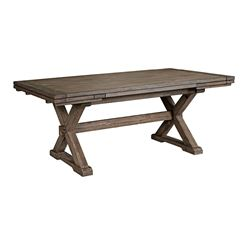 Picture of Foundry Collection Saw Buck Dining Table