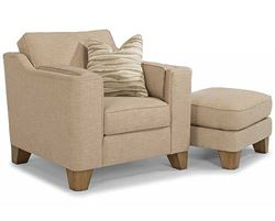 Picture of Arrow Chair & Ottoman