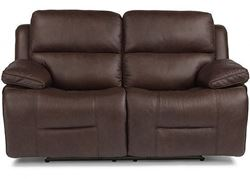 Picture of Apollo Reclining Leather Loveseat with Power Headrest (91849-60PH)