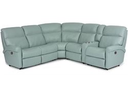 Picture of Davis Leather Reclining Sectional (3902-SECT)
